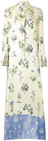 Dondup floral print maxi dress - women - Silk - 42