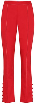 Rosie Assoulin Oboe cropped cotton trousers