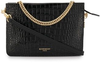 Givenchy Bolso crocodile-effect cross-body bag