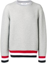 Thom Browne tricolour hem sweater