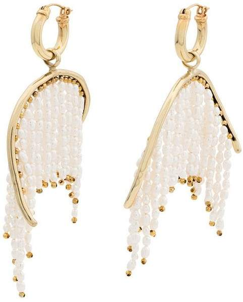 Ellery pearl fringe Emin drop earrings