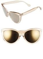 BP Women's 55Mm Cat Eye Sunglasses - Nude