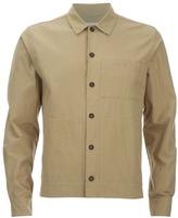 Universal Works Slub Japanese Cotton Uniform Shirt Camel