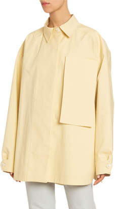 Jacquemus Le Camiseto Cotton Utility Jacket
