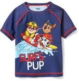 """Old Navy Paw Patrol """"Surf's Pup"""" Rashguard for Toddler Boys"""