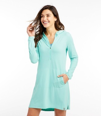 L.L. Bean Women's Sand Beach Cover-Up, Hooded Tunic
