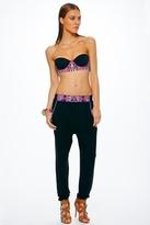 Mara Hoffman Mirror Slouch Pants in Black