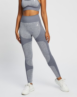 Doyoueven - Women's Grey Full Tights - Impact Seamless Leggings - Size One Size, XS at The Iconic