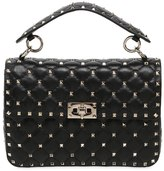 Valentino Medium Spike Leather Shoulder Bag