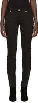 Versus Black Safety Pin Skinny Jeans