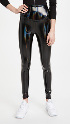 Yummie Barbarella Vinyl Look Shaping Leggings