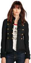 Denim & Supply Ralph Lauren French Terry Military Jacket