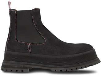 Burberry ankle-length Chelsea boots