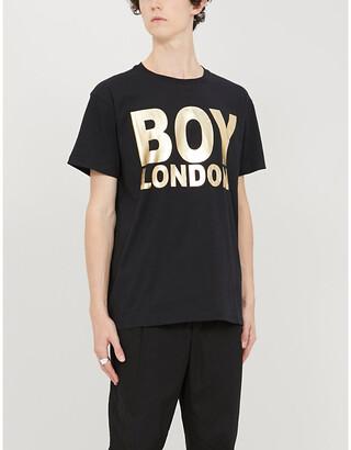 Boy London Logo-print cotton-jersey T-shirt