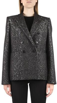 Saint Laurent Sequined Wool Blazer