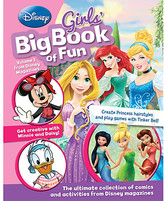 Disney Girls' Big Book of Fun