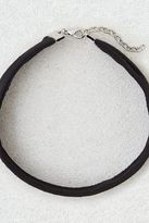 American Eagle Outfitters AE Black Wide Suede Choker