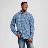 Merona Men's Big & Tall Long Sleeve Check Button Down Shirt