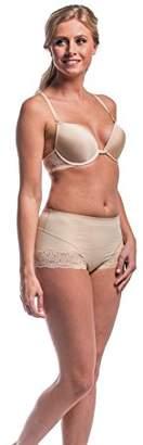 Magic Body Fashion Magic Bodyfashion Women's Magical T-Back Lace Push-up Bra,(Size:70C)