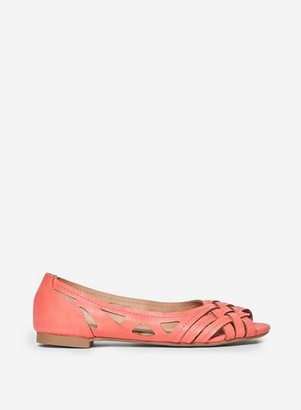 Dorothy Perkins Womens Coral 'Pearlene' Pumps, Coral