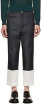 Loewe Indigo Fisherman Jeans