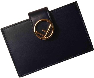 Fendi Blue Leather Purses, wallets & cases