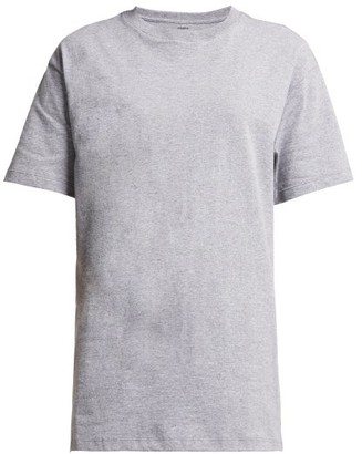 X Karla - The Original Cotton-jersey T-shirt - Womens - Grey