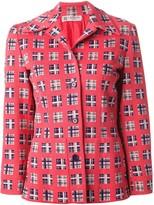 Lanvin Pre Owned jacquard jacket