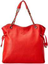 Tory Burch Thea Slouchy Leather Chain Tote