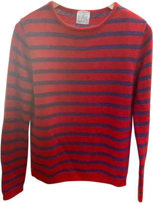 Stella Jean Red Wool Knitwear