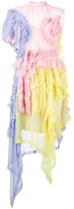 Preen by Thornton Bregazzi Viviane asymmetric dress