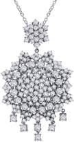 Lafonn Women's Chandelier Pendant Necklace with Simulated Diamonds