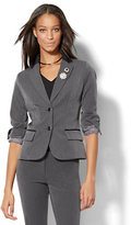 New York & Co. 7th Avenue Design Studio - Two-Button Jacket - Modern Fit - SuperStretch - Tall