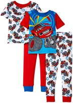 Nickelodeon High Speed 4 Piece Set (Toddler) - Red - 4T