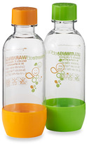 Sodastream SodaStream™ 0.5-Liter Orange and Green Carbonating Bottles, BPA-Free (Set of 2)