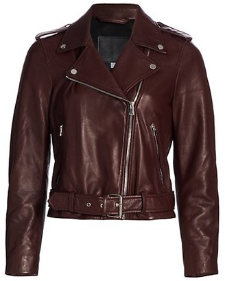 AG Jeans Rory Leather Moto Jacket