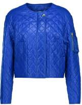 Moschino Quilted Leather Jacket
