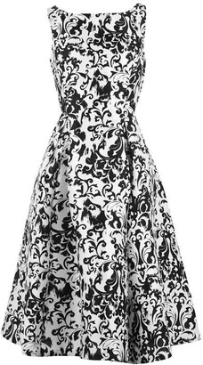 Adrianna Papell Mikado Party Dress