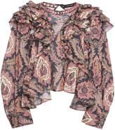 Isabel Marant Xuster Tahatai Paisley-Print Cotton Blouse