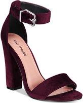Call it SPRING Arther Two-Piece Block-Heel Sandals