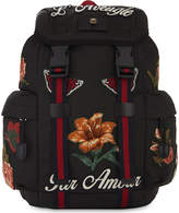 Gucci Patches small tech backpack