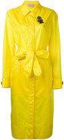 Christopher Kane long parachute coat