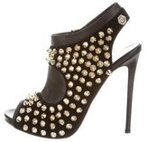Philipp Plein Full Of Grace Studded Pumps w/ Tags