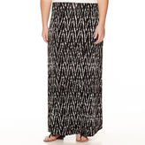 A.N.A a.n.a Wide-Waistband Maxi Skirt - Plus