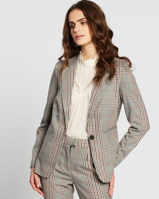 Vero Moda Women's Brown Blazers - Capri Toni Blazer - Size One Size, 38 at The Iconic