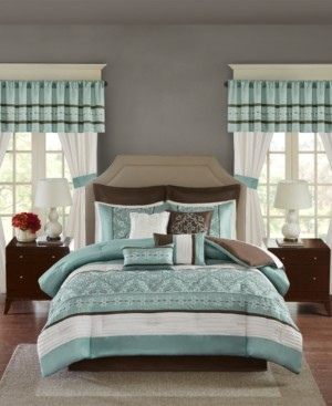 Madison Home USA Essentials Jelena Queen 24-Pc. Room in a Bag Bedding