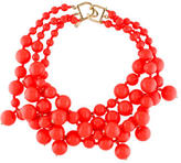 Kenneth Jay Lane Bead Multistrand Necklace