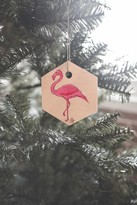 DENY Designs Madart Inc Pinkest Flamingo Ornament