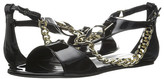 Just Cavalli Patent Leather with Metal Snake