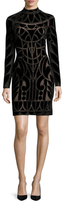 Temperley London Ashina Lace Sheath Dress